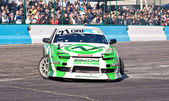 Nissan silvia s14 on the track — Stock Photo