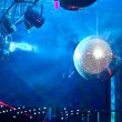 Mirror ball in a nightclub — Stock Photo