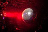 Mirror ball in a nightclub — Stock Photo
