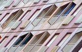 Multicolored building — Stok fotoğraf