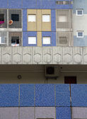 Edificio multicolor — Foto de Stock