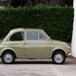 Постер, плакат: Fiat 500 italian vintage car