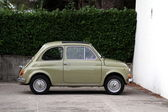 Fiat 500 - italian vintage car — Stock Photo