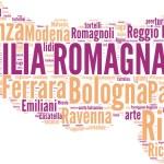Emilia Romagna tagcloud - regioni di Italia — Stock Photo #15414379
