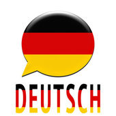 Speaking german language — Stock Photo