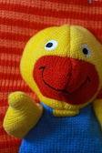 Teddy duck toy — Stockfoto