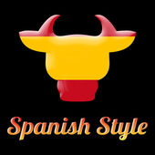 Spanish style bull symbol — Stock Photo