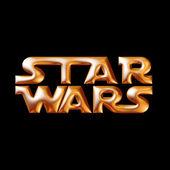Star Wars logo — Stock Photo