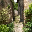 Old medieval alley — Stock Photo