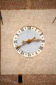 Clock of a tower in Castelfranco Veneto, Italy — Stock Photo