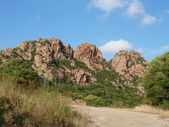 Granite rocks of Sardinia, Italy — Stockfoto