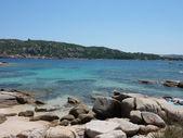 The rocky beach of Capo Testa, Gallura, Sardinia, Italy — Stock Photo