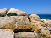 Granite rocks lines — Stock Photo