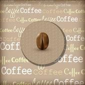 Coffee themed design illustration — Stock Vector