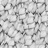 Бесшовный цветочный фон — Cтоковый вектор