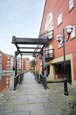 Residential buildings, New Islington, Manchester, UK — Stock Photo