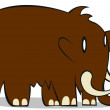 Mammoth — Stock Vector