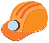 Worker helmet — Vector de stock