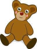 Teddy bear — Vettoriale Stock