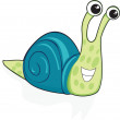 Cute snail — Stock Vector #20238827