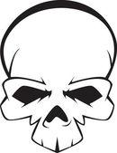 Skull — Stock Vector