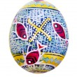 Stock fotografie: Easter egg painted in folk style