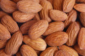 Almond background — Stock Photo