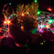 Christmas bulbs - Foto Stock