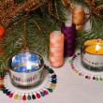 Christmas needlework — Stock Photo #12746001