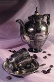 Kaffekanna och cup — Stockfoto