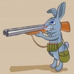 Постер, плакат: Hare hunter