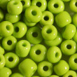 Salad color big beads — Stock Photo
