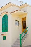 Spanish house entrance — Stock Photo