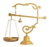 Balance de oro viejo — Foto de Stock