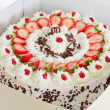 Strawberry cake in a box — Stock Photo #20070095