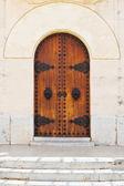 Church entrance — Stock Photo