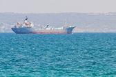 Tanker in Middellandse Zee — Stockfoto