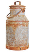 Old milk can — Stock Photo