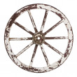 Old cart wheel — Stock Photo #23038690