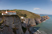 Cliffs in Zumaia, Gipuzkoa, Basque Country, Spain — Stock Photo