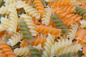 Uncooked Italian Spiral Pasta — Stock Photo