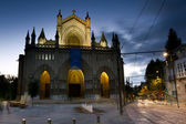 Cathedral of Vitoria, Alava, Basque Country, Spain — Stock Photo
