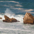 Stock Photo: Coast in Liencres, Cantabria, Spain