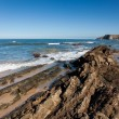Stock Photo: Beach of Comillas, Cantabria, Spain