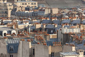 Roofs in Paris, France — Stock Photo