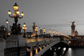 Alexander III bridge, Paris, France — Stock Photo