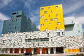 Building in Salburua, Vitoria, Araba, Basque Country, Spain — Stock Photo