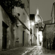 Street of Montmartre, Paris, Ile de France, France — Stock fotografie