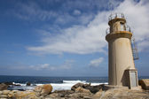 Lighthouse of Muxia, Costa da morte, La Coruna, Galicia, Spain — Zdjęcie stockowe