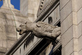 Gargoyle in the Sacre Coeur, Montmarte, Paris, France — Stock Photo